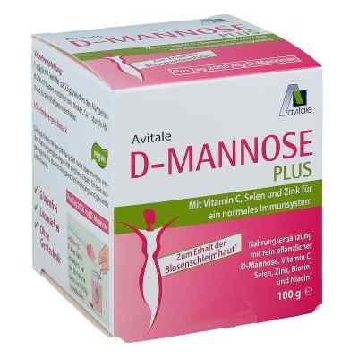 D-mannose Plus 2000 mg mit Vit.u.Mineralstoffe Pulv.  bei juvalis.de bestellen