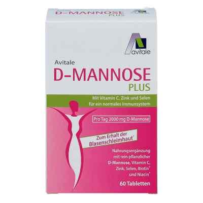 D-mannose Plus 2000 mg Tabletten mit vit.u.mineralstof.  bei juvalis.de bestellen