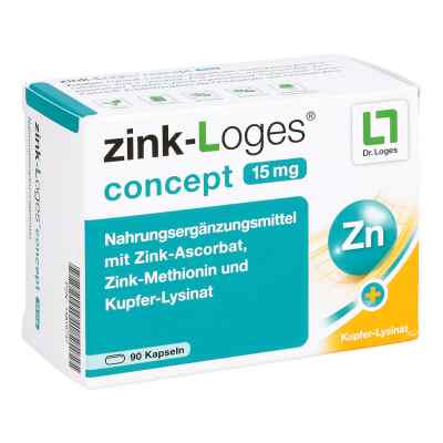 Zink-Loges concept 15 mg Kapseln  bei juvalis.de bestellen