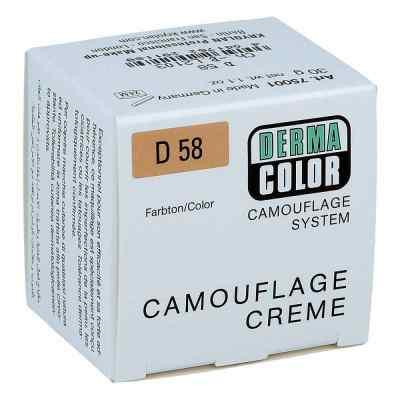 Dermacolor Camouflage Creme D58  bei juvalis.de bestellen