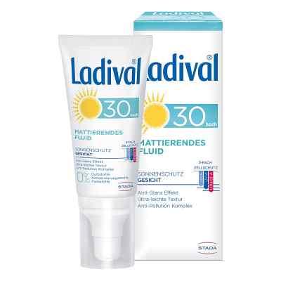 Ladival Sonnenschutz Gesicht Fluid mattierend LSF 30  bei juvalis.de bestellen