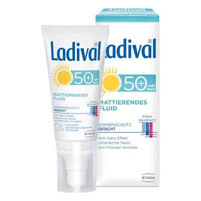Ladival Sonnenschutz Gesicht Fluid mattierend LSF 50+  bei juvalis.de bestellen