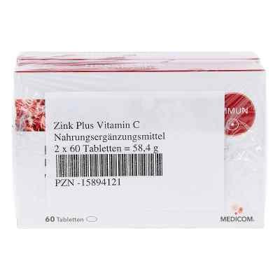 Zink Plus Vitamin C Tabletten  bei juvalis.de bestellen