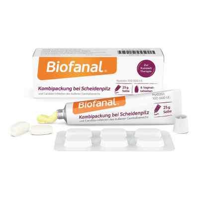 Biofanal Kombipackung bei Scheidenpilz Vaginaltabletten+Salbe  bei juvalis.de bestellen