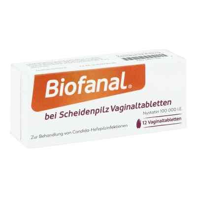 Biofanal bei Scheidenpilz 100 000 I.e. Vaginaltabletten  bei juvalis.de bestellen