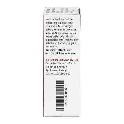 Nicotin Al 1 mg/Sprühstoß Spray zur Anwendung in der Mundhöhle,   bei juvalis.de bestellen