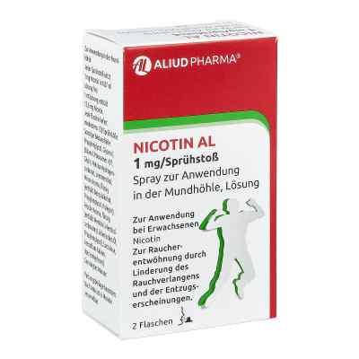 Nicotin Al 1 mg/Sprühstoss Spray zur, zum Anw.i.d.Mundhö.  bei juvalis.de bestellen