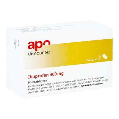 Ibuprofen 400 mg Apodiscounter Filmtabletten  bei juvalis.de bestellen