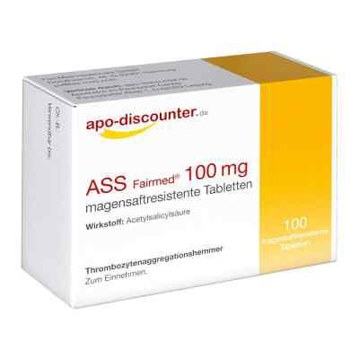 ASS 100 mg von apo-discounter  bei juvalis.de bestellen