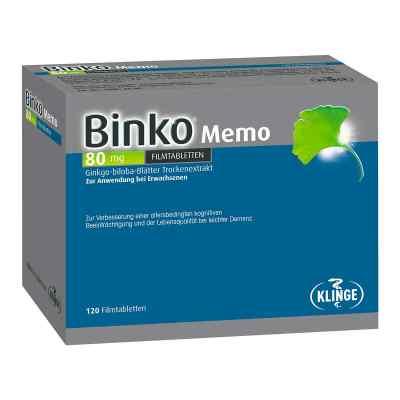 Binko Memo 80 Mg Filmtabletten  bei juvalis.de bestellen