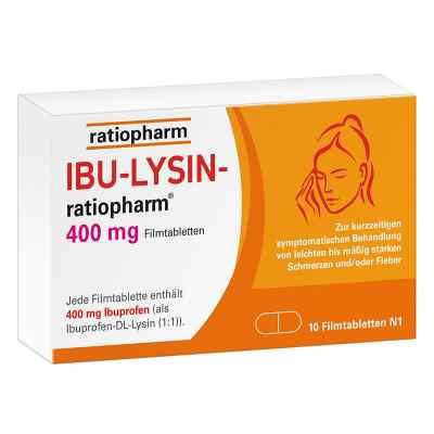 Ibu-lysin-ratiopharm 400 mg Filmtabletten  bei juvalis.de bestellen