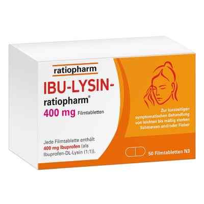 Ibu Lysin-ratiopharm 400 mg Filmtabletten  bei juvalis.de bestellen