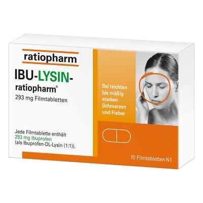 Ibu-lysin-ratiopharm 293 mg Filmtabletten  bei juvalis.de bestellen