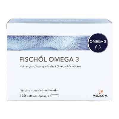 Fischöl Omega 3 Weichkapseln  bei juvalis.de bestellen
