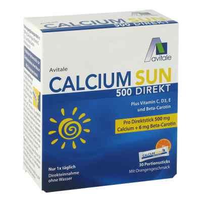 Calcium Sun 500 Direkt Portionssticks  bei juvalis.de bestellen