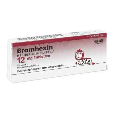 Bromhexin Hermes Arzneimittel 12 mg Tabletten  bei juvalis.de bestellen