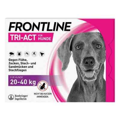 Frontline Tri-Act gegen Zecken, Flöhe bei Hunden (20-40kg)  bei juvalis.de bestellen