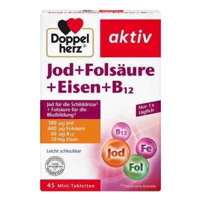 Doppelherz Jod + Folsäure + Eisen + B12 Tabletten  bei juvalis.de bestellen
