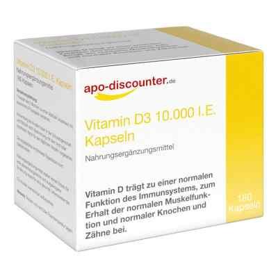 Vitamin D3 Kapseln 10000 I.e. 250 [my]g von apo-discounter  bei juvalis.de bestellen