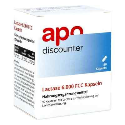 Lactase 6.000 Fcc Kapseln von apo-discounter  bei juvalis.de bestellen