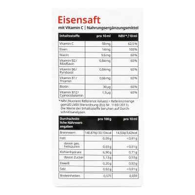 Eisensaft mit Vitamin C von apo-discounter  bei juvalis.de bestellen