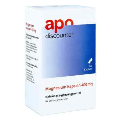 Magnesium Kapseln 400 mg von apo-discounter  bei juvalis.de bestellen