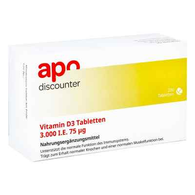 Vitamin D3 Tabletten 3000 I.e. 75 [my]g  bei juvalis.de bestellen