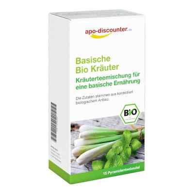 Bio Basen-Kräutertee Filterbeutel von apo-discounter  bei juvalis.de bestellen