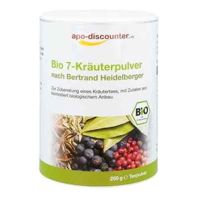 Bio 7-Kräuterpulver nach Bertrand Heidelberger von apo-discounte  bei juvalis.de bestellen