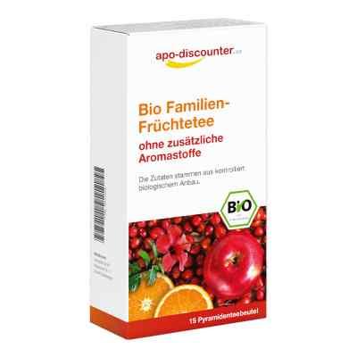 Bio Familien-Früchtetee Filterbeutel  bei juvalis.de bestellen
