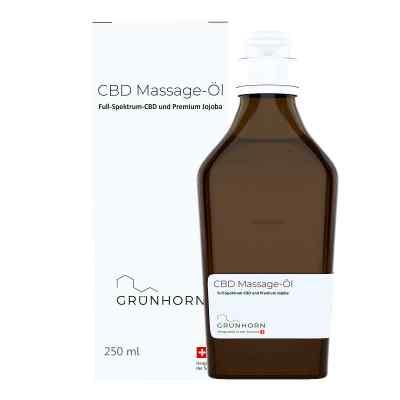 Grünhorn Cbd Massage-öl  bei juvalis.de bestellen