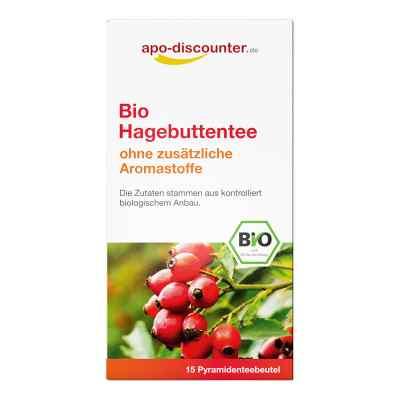 Bio Hagebutten Tee Filterbeutel von apo-discounter  bei juvalis.de bestellen