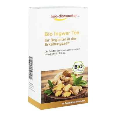 Bio Ingwer Tee Filterbeutel von apo-discounter  bei juvalis.de bestellen