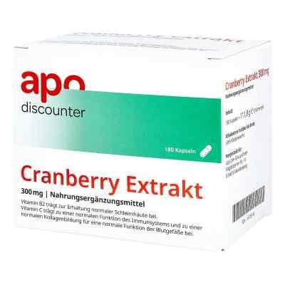 Cranberry Extrakt 300 mg Kapseln  bei juvalis.de bestellen