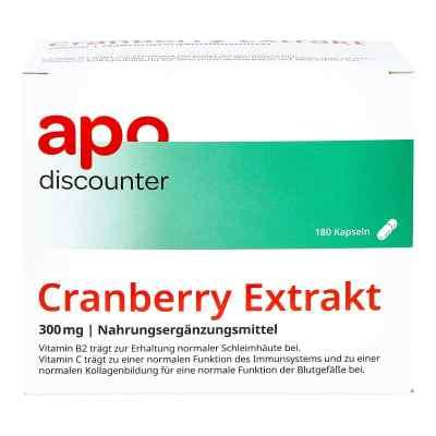 Cranberry Extrakt 300 mg Kapseln von apo-discounter  bei juvalis.de bestellen