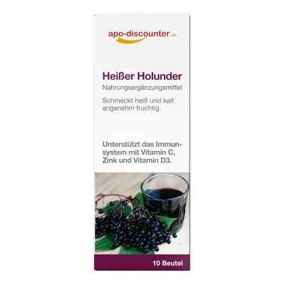 Heisser Holunder Pulver Beutel von apo-discounter  bei juvalis.de bestellen