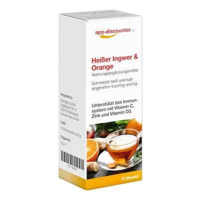 Heisser Ingwer + Orange Pulver von apo-discounter  bei juvalis.de bestellen