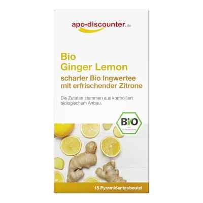 Bio Ginger Lemon Tee Filterbeutel von apo-discounter  bei juvalis.de bestellen