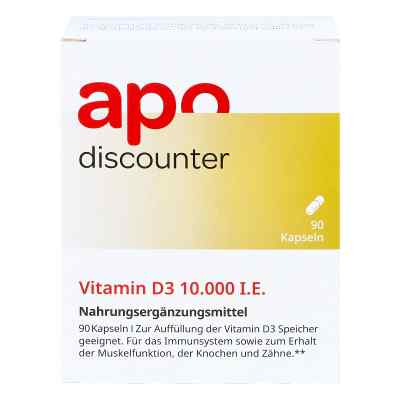 Vitamin D3 10.000 I.e. Kapseln  bei juvalis.de bestellen