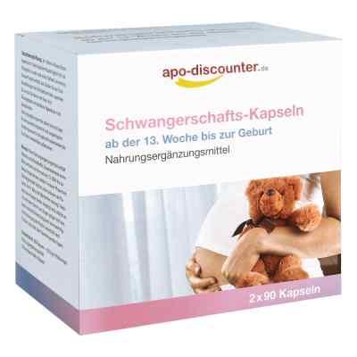 Schwangerschafts Kapseln von apo-discounter  bei juvalis.de bestellen