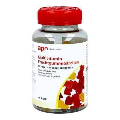 Gummibären Multivitamin vegan und zuckerfrei von apo-discounter  bei juvalis.de bestellen