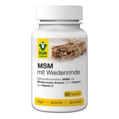 Msm Mit Weidenrinde Kapseln  bei juvalis.de bestellen