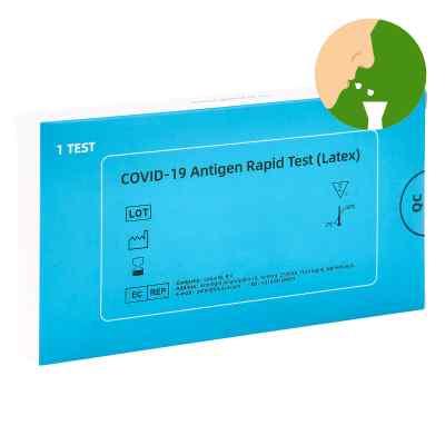 COVID-19 Antigen Saliva Schnelltest (Latex) Spucktest  bei juvalis.de bestellen