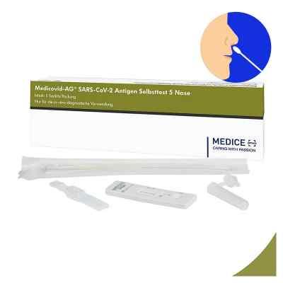 Laientest Medicovid-ag Sars-cov-2 Antigen Selbsttest Nase  bei juvalis.de bestellen